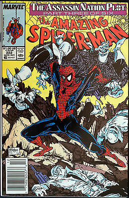 THE AMAZING SPIDER-MAN #322 Silver Sable, McFarlane VF/NM