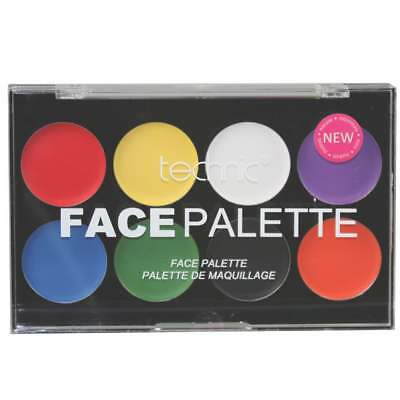 Technic Face Paint Palette - Cream Body Colours Create Kids Adults Halloween