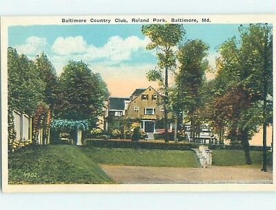 W-Border COUNTRY CLUB Baltimore Maryland MD ho6595