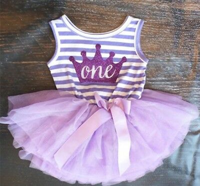 1st Birthday, Cake Smash, Baby Girl Photo Prop Sleeveless Top With Tulle Skirt