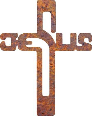 DXF CNC dxf for Plasma Router Clip Art Vector Jesus Cross Man Cave