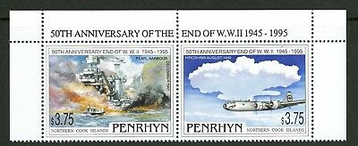 Penrhyn Islands   1995   Scott # 444    Mint Never Hinged Set