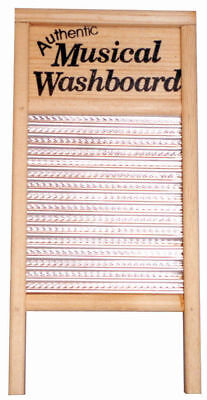 TROPHY - Musical Washboard *NEW* Includes Thimbles, Bluegrass, Percussion
