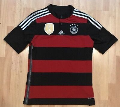 huge discount f8979 07df8 ADIDAS CLIMACOOL 2014 FIFA World Cup Germany Deutscher Jersey Youth XL  Adult SM
