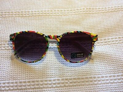 Vintage, Quay, sunglasses, sunnies, patterned, round