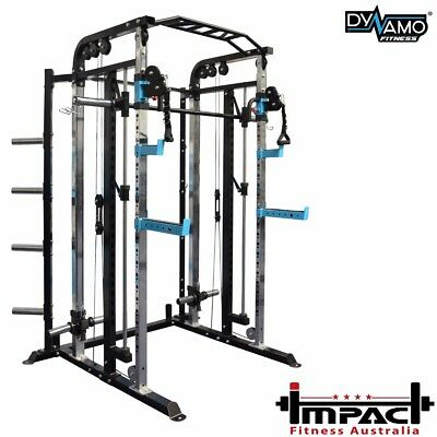 Home Gym FUNCTIONAL TRAINER Cable Crossover Smith machine & Cable Attachments