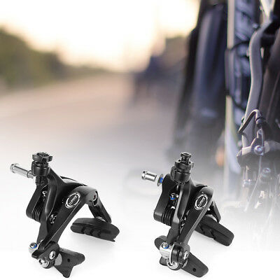 Paired Aluminum Alloy Dual Pivot Bike Bicycle Side Pull Caliper Front Rear Brake