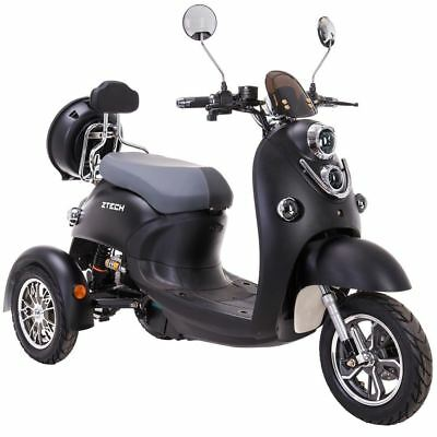 Exclusive 3 Wheeled Electric Mobility Scooter Eco 60V 100AH 500W Unique Trilux