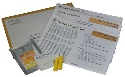 Food Intolerance Test Home Allergy Testing Kit 90 Foods Tested Elisa Postal Pack