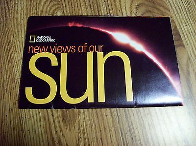 New View of our Sun July 2004 Map National Geographic Society
