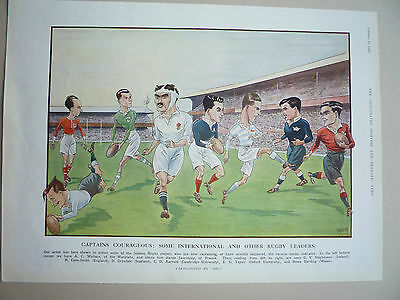 """Rugby. """" Captains Courageous """" 1928.very Rare."""