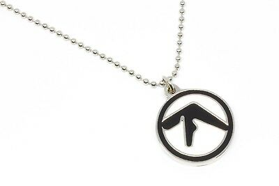Aphex Twin Metal Pendant with Chain Ball Necklace