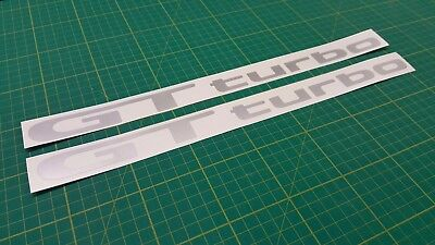 Toyota  Starlet Glanza GT Turbo side replacement decals stickers ep82 ep91