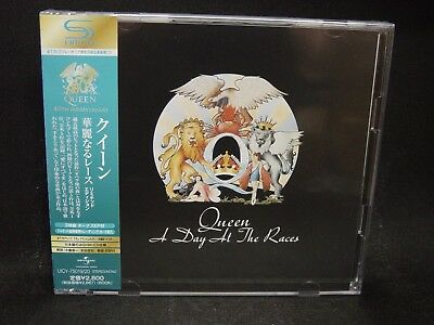 QUEEN A Day At The Races JAPAN SHM 2CD Freddy Mercury Smile The Cross