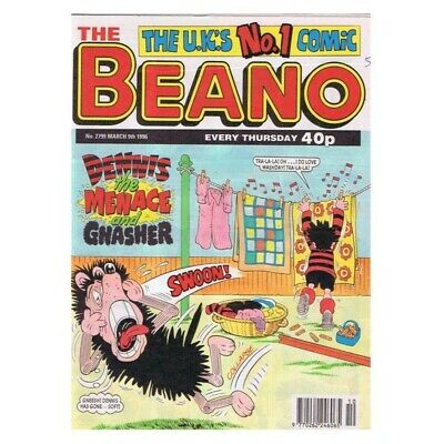 The Beano Comic No.2799 March 9 1996 Dennis MBox2807