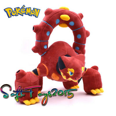 Pokemon Center Volcanion Plush Doll Stuffed Soft Toy Figure Collectible Gift