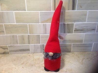 Larssons Tra Christmas Tomte Wood Figurine NWT Tranemo Sweden