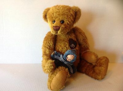 Ganz Cottage Collectibles Bear Old Friend 50th Anniversary New with tags