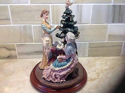 "Department 56 a Xmas story of "" Christmas Past "" scene figurine"