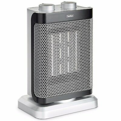 VonHaus Ceramic Heater 1000W/1500W Oscillating Portable for Home Office
