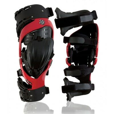 ASTERISK CELL Knee Brace [Size: M, Color: Red]
