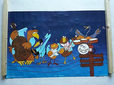 The Buzbys Poster Large Vintage 1978 Pace Int. 79/p3192 Was Unopened Very Rare
