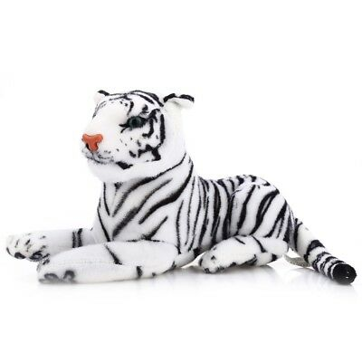 Kids Stuffed Animal Simulation Tiger Doll Plush Toy Gift Desk Decor