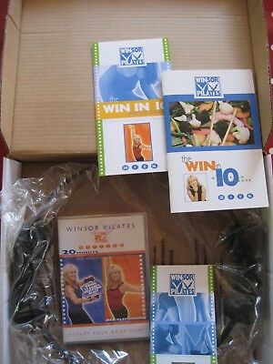 Winsor Pilates set (DVD, Toning Ring, meal plan/cookbook, exercise planner)