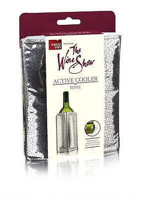 Vacu Vin The Wine Show Active Cooler Wine Silver