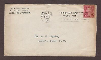 mjstampshobby 1923 US Vintage Cover Used (Lot4906)
