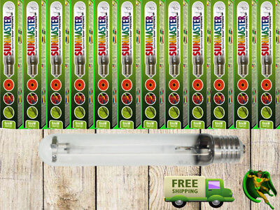 12 X 600w SUNMASTER DUAL SPECTRUM GROW LAMPS, BULBS FOR GROW LIGHT HYDROPONICS