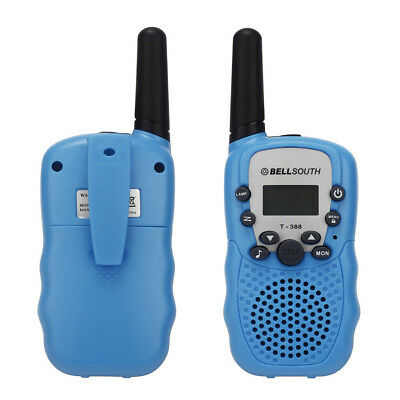 2pcs Portable Wireless Walkie-talkie Eight Channel 2 Way Radio Intercom 5KM