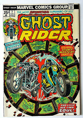 Ghost Rider #7 (1974 Marvel) VF