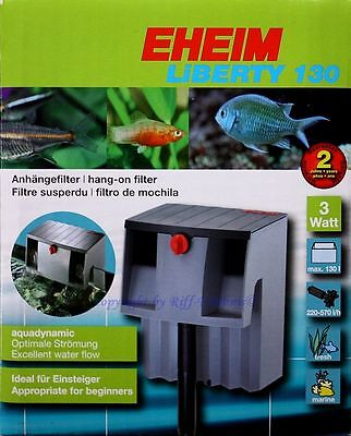 eheim liberty 130 FILTRE Attaché 2041020 doux et eau de mer aquariums 2041