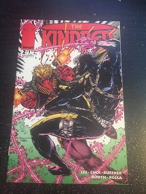 Kindred#2 Incredible Condition 9.6 Choi Art, Grifter App!!