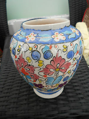 Attractive Hand Painted Vase c1960/70s