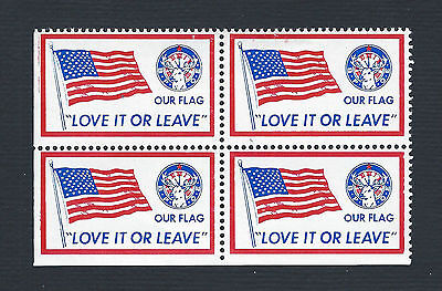 mjstampshobby US -Our Flag- LoveIt Or Leave- MNH (Lot1789)
