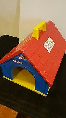 "Tonka Pound Puppies Dog House - PUP'S PAD - Dog House Carrier 15"" x 12"" - 1986"