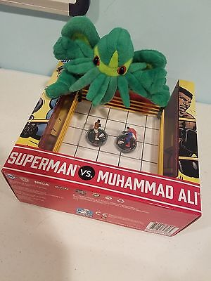 Superman Vs Ali Boxing Ring Dp17-003 Dp17-004  Wizkids Con Ex Le Heroclix Dc