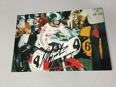 GIACOMO AGOSTINI  15 x Motorrad-Weltmeister signed Foto 10x15 Autogramm