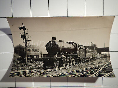 British Railways Locomotive Exchange: Engine 63773: 1948 Railroad Photo Postcard