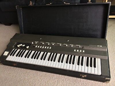 Elka X50 keyboard, fully functional, vintage musical instrument, with case .