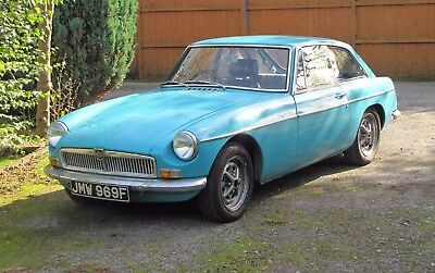 1967 MGB GT - turquoise - 4 synchro conversion - 12 months MOT
