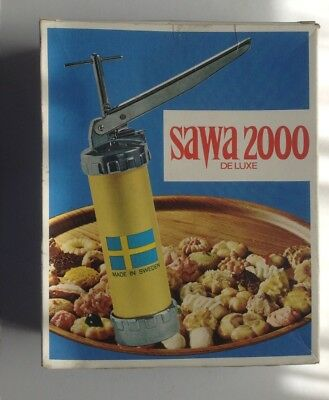 Vintage Swedish SAWA 2000 Deluxe Soft Mixture Clever Must Have Kitchen Gadget