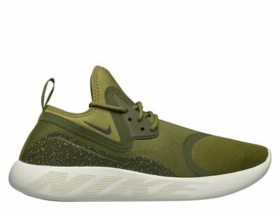 1f4ef1c1f42 Nike Lunarcharge Essential Camper Green White Mens Running Shoes 923619-300