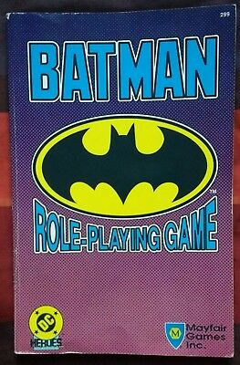 Mayfair Games BATMAN RPG BOOK 1989 Pre-Owned Joker DC Comics Riddler Penguin