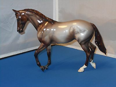 2009 Peter Stone Eloy Thoroughbred Model Horse Red Roan One Of A Kind! 2001 Mold