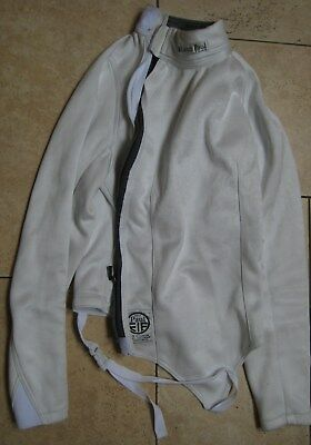 "Leon Paul Apex 800N FIE jacket. LEFT-handed. Womens 40 Tall. Chest 38""/39""- 99cm"