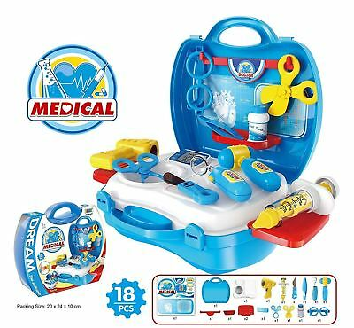 Best Doctor Medical Kit Playset 18 Pieces Packed in a Sturdy Gift Case +...