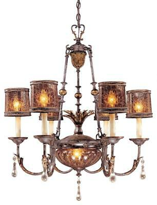 Minka Metropolitan N6076-194 Glass Up Chandelier